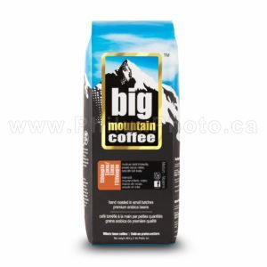 coffee bag bean beans big mountain ground cup mug dark