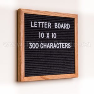 Philux Photo – Letter Board - Product Photography - Calgary Vancover Toronto Edmonton