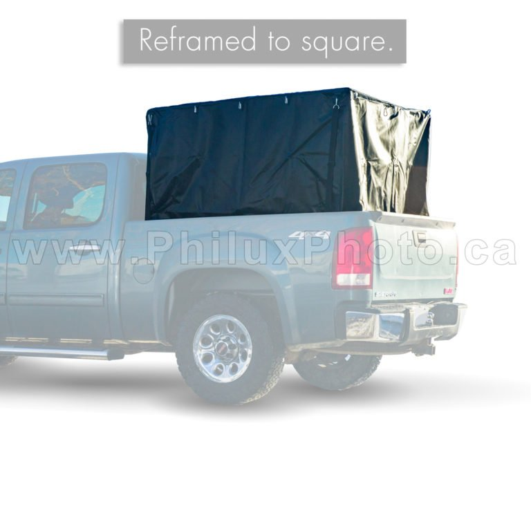 philux photo editing truck tarp product photography calgary edmonton vancouver toronto