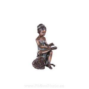 product photography philux photo decor bronze statue antique dancer ballerina child art