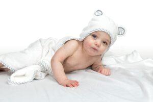 philux product photography calgary vancouver toronto baby towel lifestyle toddler amazon