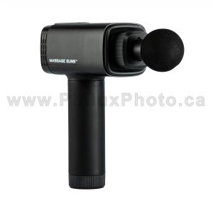 philux photo massage gun therapy muscle sport exercise recovery product photography calgary vancover