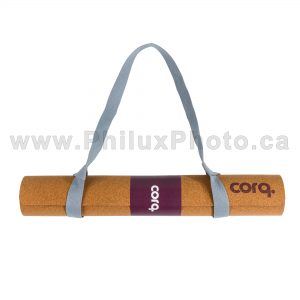 philux photo product photographer yoga mat lifestyle health exercise cork green