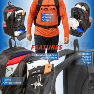 Wolks Lacrosse Backpack