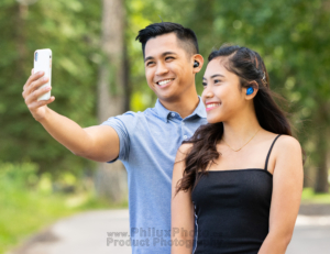 philux photo product photography calgary vancouver toronto mobile bluetooth earbuds
