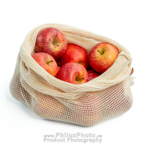 philux photo product photography bag reusable cotton mesh recycle green calgary toronto vancouver Infographics