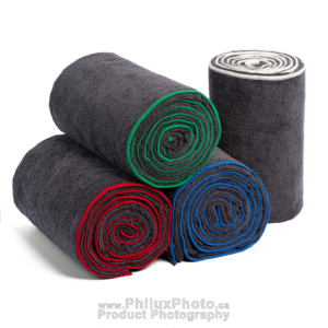 philux photo product photography yoga towel calgary toronto vancouver  infographics