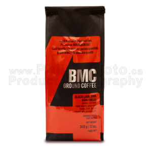 philux product photography mountain coffee honey bag bean natural columbia expresso